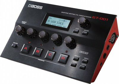 Boss GT001 Guitar Effects Processor Pedal