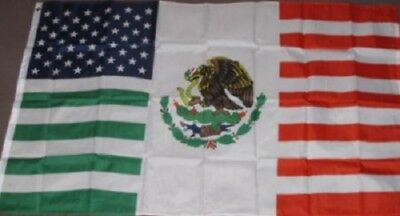 USA Mexico Friendship Flag United States Mexican Banner Pennant 3x5 Outdoor New