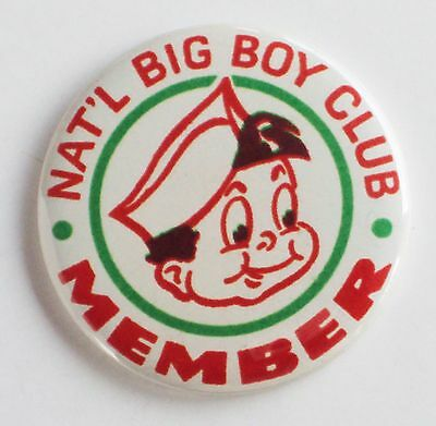 Big Boy Club Member FRIDGE MAGNET restaurant bob's shoney's sign