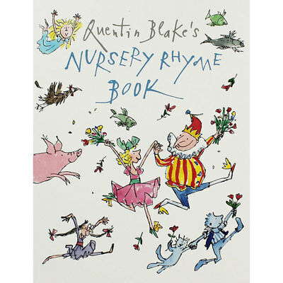 Nursery Rhyme Book by Quentin Blake (Paperback), Multibuys, Brand New