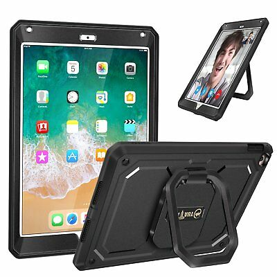 Mutiple Angles Screen Protector Hard Case Cover For iPad 9.7 2018 6th Generation