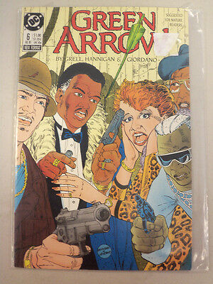 Green Arrow DC Comic Book 6 July 1988
