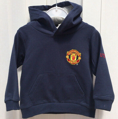 Manchester United FC,MUFC Hoodie Age 12-18 Months