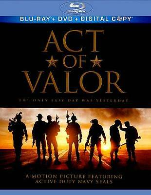Act of Valor [Blu-ray] New DVD! Ships Fast!