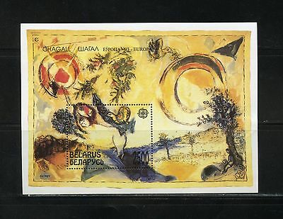 Topical Stamps Stamps Mozambique Wassily Kandinsky Painting 2001souvenirsheet