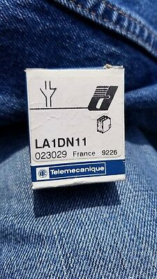 NEW Telemecanique Auxiliary Contact Block LA1-DN11