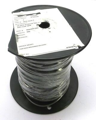 Copperfield 1015-16/26-8 Tinned Copper Wire, 26 Strand, 16 AWG, 600V, 400' Grey