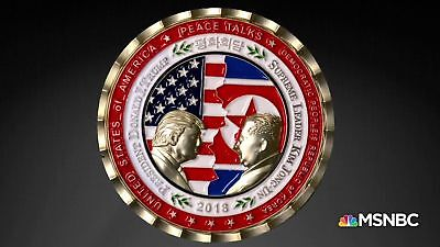 PRE-Order Pres. Trump - Kim Jong-Un NoKo Peace Talks / Summit Commemorative Coin