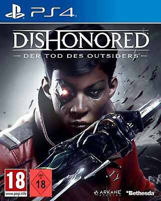 PS4 Spiel Dishonored 2: Der Tod des Outsiders NEUWARE