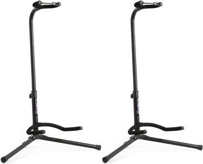 On-Stage Stands Classic Guitar Stand - Single (2-pack) Value Bundle