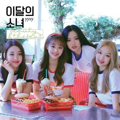 MONTHLY GIRL yyxy LOONA - beauty&thebeat [Limited ver.] CD+Poster+Tracking no.