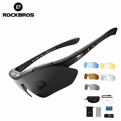 RockBros Polarized Cycling Sport Glasses Bike Goggles Fishing Sunglasses UV400