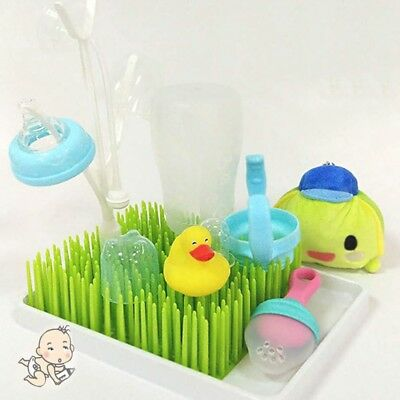 Simulation Lawn Boon Grass Countertop Drying Rack Baby Bottle Utensil Air Drying