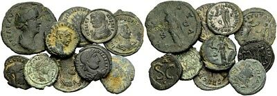 FORVM Lot of 10 Nice Roman Imperial and Provincial Billion and Bronze