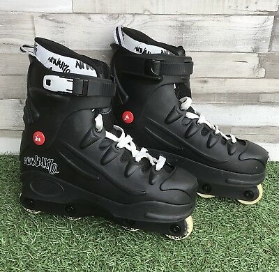Airwalk Aggressive Inline In-line Roller Street Skates UK Size 10 254013