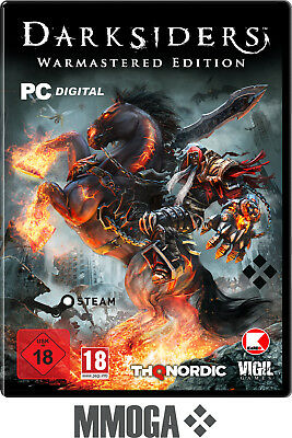 Darksiders Warmastered Edition Steam PC Spiel Download Code [DE/EU] - USK ab 18