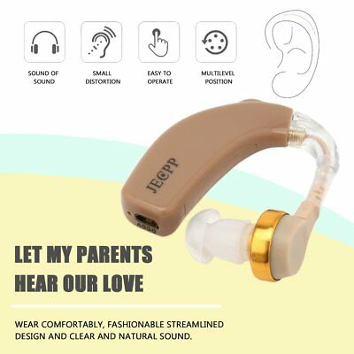 JECPP C-108 Digital Hearing Aid Invisible Rechargeable Sound Amplifier DI
