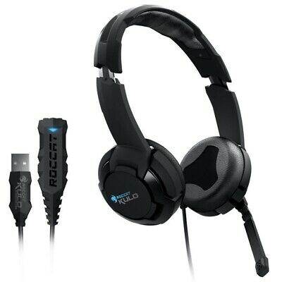 Roccat Gaming Headset Virtual 7.1 USB Gamer Kopfhörer Mikrofon für PC Notebook
