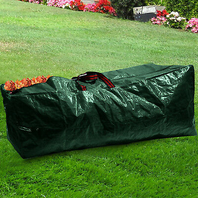 130L Garden Waste Bags Heavy Duty Large Strong Rubbish Grass Sacks with Handle