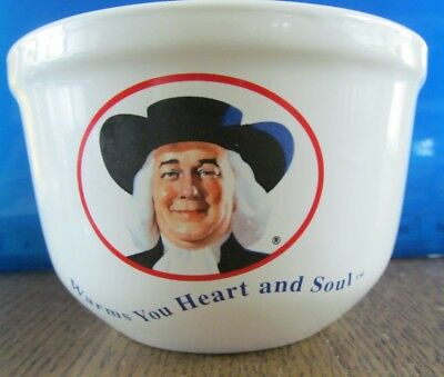 Quaker Oats Oatmeal Advertising Bowl Warms You Heart And Soul (Un-dated)