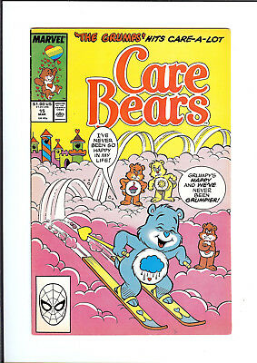 CARE BEARS #15 1988 MARVEL In Case of the Grumps FN/VF
