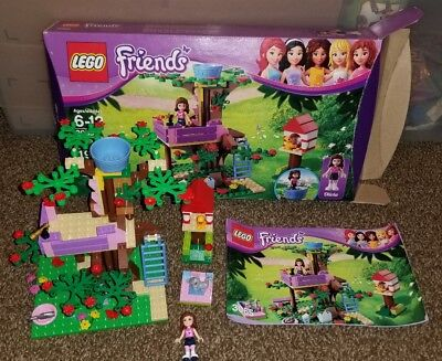 Lego Friends Olivias Tree House 3065 Complete With Instructions