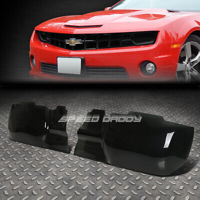 For 2010-2013 Chevy Camaro Tinted Acrylic Headlight Cover Smoked Screen Plate