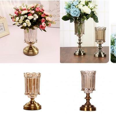 Luxury Tall Glass Flower Vase Wedding Vase for Home Wedding Table Decoration  sc 1 st  PicClick UK & LUXURY TALL GLASS Flower Vase Wedding Vase for Home Wedding Table ...