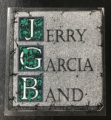 Rare Vintage Jerry Garcia Band Grateful Dead,Sticker,Stained Glass Look NOS 1993