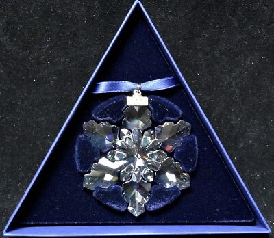 2008 SWAROVSKI CRYSTAL Large Annual Edition CHRISTMAS ORNAMENT #942045 NIB