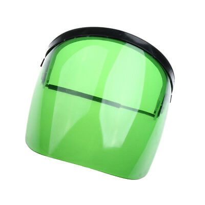 Clear Green Face Safety Shield Eye, Face Protection Workwear Flip Up Helmet