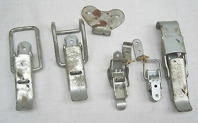 Various Metal Case / Trunk / Chest / Box Clips By Protex Redditch England