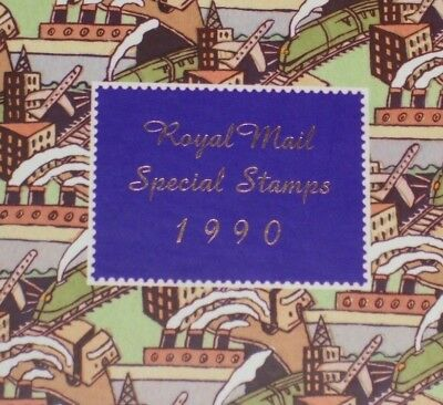 Gb 1990  *** Royal Mail Special Stamps *** With All Stamps & A Slip Case - New