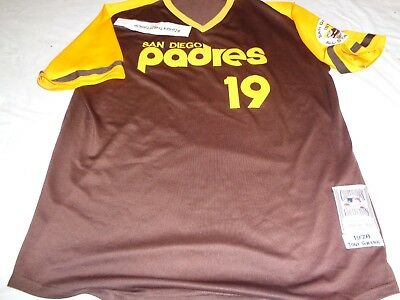check out 100f5 68dfb MITCHELL & NESS SAN DIEGO PADRES Tony Gwynn 19 MLB 1978 ALL STAR JERSEY  size 56