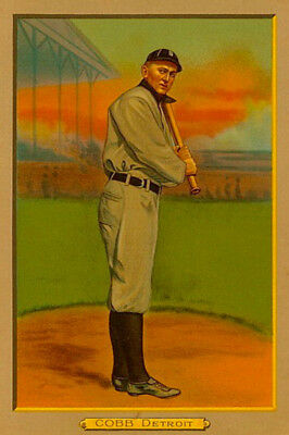 Ty Cobb, Detroit Tigers, American Tobacco Company, 1911. DOWNLOAD