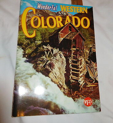 vintage Wonderful Western Colorado book colorful pictures
