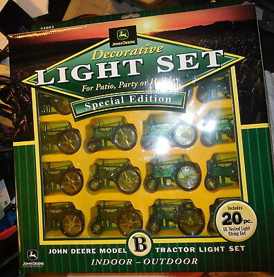John Deere Tractor 20 Light Set Mode lB Special Edition patio indoor outdoor set