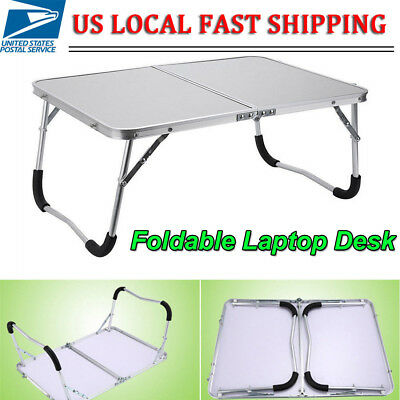 Portable Folding Lap Desk PC Laptop Notebook Bed Table Stand Tray Adjustable