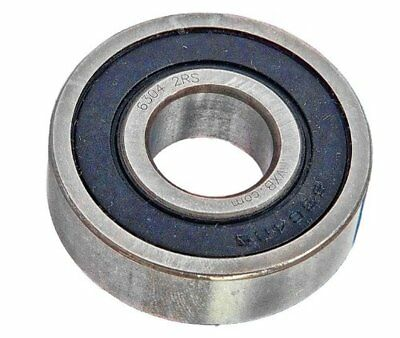 Chrome Precision Sealed Ball Bearing 17mm ID x 47mm OD x 14 w 6303-2RS (One)