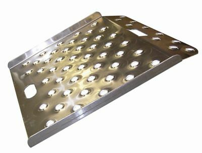 "New Aluminum Wedge Style Curb Ramp -27"" x 27"" 750# Cap / 750# Cap."