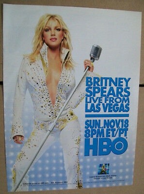 Britney Spears 2001 Ad- Live From Las Vegas