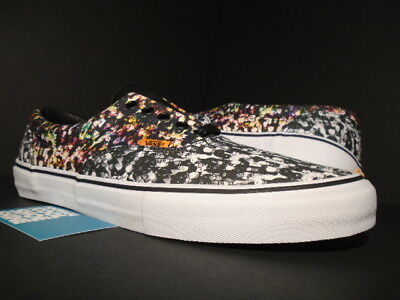 2a2ef6d8a3eaa9 2014 Vans Era Pro S Flaschen Black White Multicolor Authentic Vn-0Rqtf4S  New 12