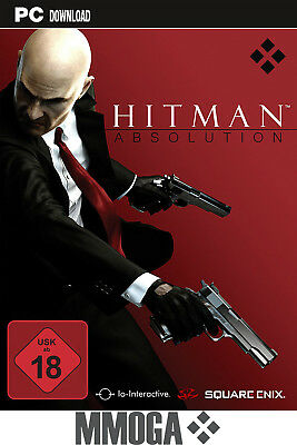 Hitman Absolution Key - PC Digital Download Code - Steam Spiel Neu [DE/Weltweit]