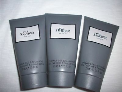 (GP 4,00€/100ml) - s. Oliver For Him Men - Shower Gel & Shampoo 225ml