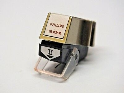 Philips Cartridge GP401 MK II GOLD Stylus Nadel Tonabnehmersystem