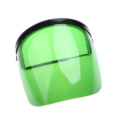 Safety Face Shield / Clear Visor Full Mask / Eye Protection Grinding Green