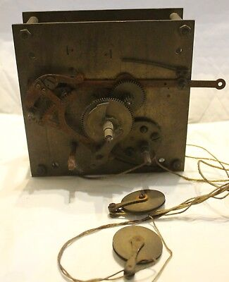 German longcase grandfather clock movement for spares or repair
