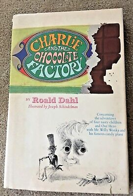 1973 Charlie And The Chocolate Factory Roald Dahl Hc/dc