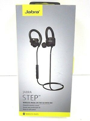 1bb22577d66 JABRA HALO FUSION Wireless Bluetooth Earbuds Neckband Headset Black ...