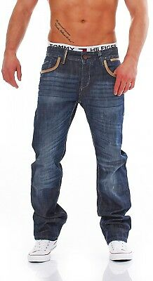 bdd37f94 CIPO & BAXX - C-1053 - Regular Fit - Used Look Men's Jeans Pants 33 ...